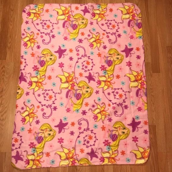 Disney Princess Rapunzel Fleece Throw Blanket Poshmark Beauteous Rapunzel Throw Blanket